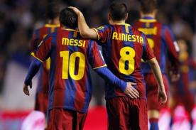Andrés Iniesta: 'Yo soy mejor con Leo, Lionel Messi es mejor con Barcelona'