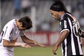Neymar: 'Como Ronaldinho, espero dejar mi huella en el Barcelona'