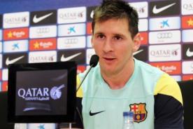 Leo Messi: Yo no tengo nada que ver con el fichaje del 'Tata' Martino