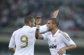 Video: Karim Benzema y Pepe se pelearon en el Atlético vs Real Madrid