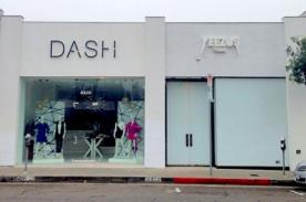 Kanye West abrió tienda al lado de la boutique de las hermanas Kardashian