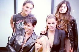 Nicki Minaj se convierte en una Kardashian por un día - Fotos