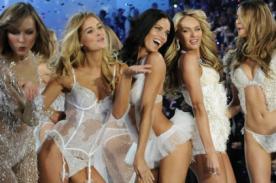 Los 'Ángeles' de Victoria's Secret interpretaron 'I Knew You Were Trouble' - Video