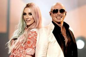Kesha y Pitbull logran el número uno en Billboard gracias a 'Timber'