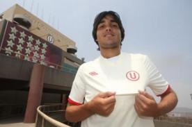 Dalton Moreira se incorporó a los entrenamientos de Universitario