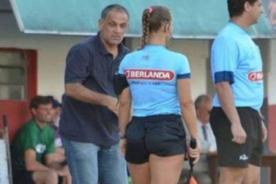 Juventus: Técnico del equipo 'piropeo' a jueza, tras ser expulsado del partido