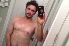 James Franco sobre selfie semidesnudo: Es lo que la gente quiere