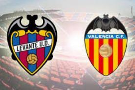 Levante vs Valencia: En vivo por DirecTV - Liga BBVA