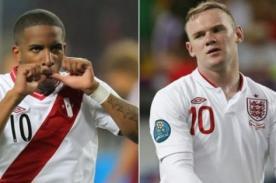 Perú vs Inglaterra en vivo por CMD - Amistoso Internacional (Hora peruana)