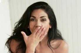Vania Bludau desea feliz día del padre con sus fotos desnuda