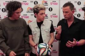 [Video] One Direction es parte de nueva canción del Mundial Brasil 2014