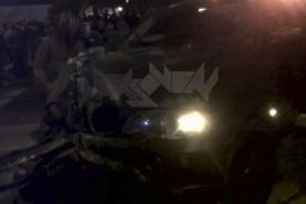 Así quedó el auto de Yaco Eskenazi tras accidente automovilístico [Foto]