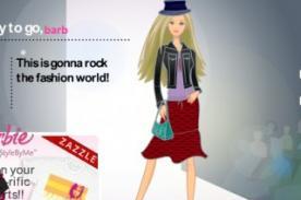 Juegos Friv: Viste a Barbie y demuestra que tienes estilo