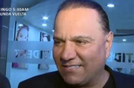Mauricio Diez Canseco habla sobre presunto romance con Michelle Soifer-VIDEO