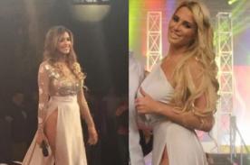 ¿Macarena Gastaldo se copió del vestido de infarto de Milett Figueroa?- FOTOS