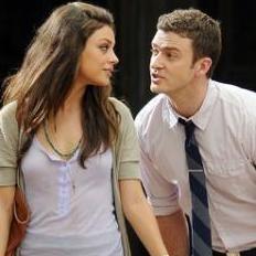 Justin Timberlake y Mila Kunis en el trailer de Friends With Benefits