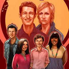 Elenco de Glee se luce en la portada de su propio cómic