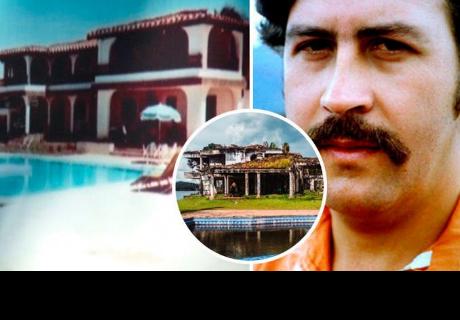 Así luce la lujosa mansión de Pablo Escobar, tras 30 años de abandono