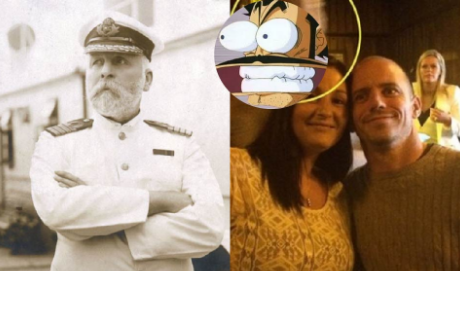 Pareja se toma una foto en un famosos bar y el 'fantasma' del capitán del Titanic aparece