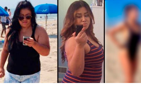 Su esposo la dejó por pesar 112 kilos, decidió cambiar y hoy luce irreconocible