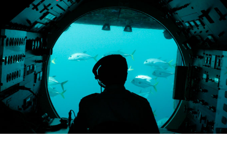 La NASA envió un submarino al fondo del Océano Pacífico