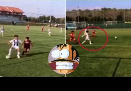 Hijo de Cristiano Ronaldo sería ¿La nueva promesa del fútbol?