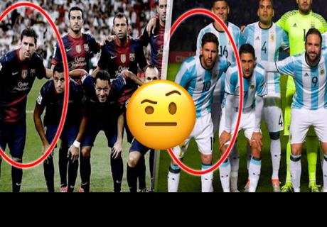 Esta es la insólita manía de Messi que pocos notaron