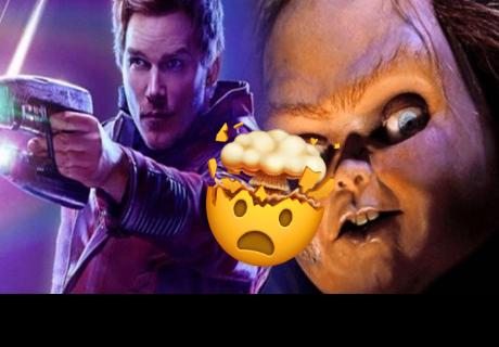 Chris Pratt sorprende a sus fans mostrando su parecido con Chucky cuando era niño