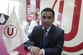 Fútbol peruano: Otorgan garantías a Julio Pacheco
