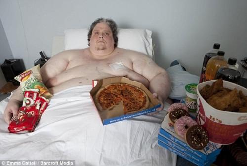 Hombre más gordo del mundo consumía 20 mil calorías al día
