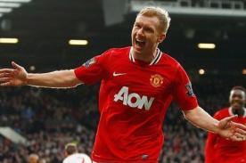 Premier League: Scholes jugará una temporada más en el Manchester United