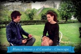 Bruno Pinasco se reunió con Kristen Stewart para especial de Cinescape