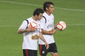 Fútbol peruano: Pizarro y Guerrero estuvieron diablos en la práctica de ayer