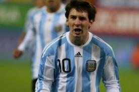 Video: Disfruta los 26 goles de Lionel Messi con la selección argentina