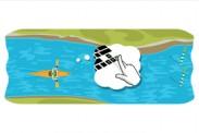 Canotaje en slalom Londres 2012: Google te reta a remar en el río