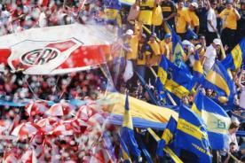Fútbol Argentino: Clásico River Plate vs Boca Juniors paraliza al país