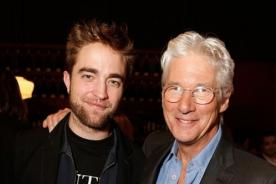 Robert Pattinson asistió a evento de Richard Gere sin Kristen Stewart