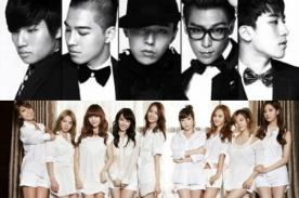 Big Bang y Girls Generation arrasan con ventas en Canadá