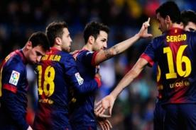 Barcelona vs Málaga (2-2) en vivo por ESPN - Copa del Rey