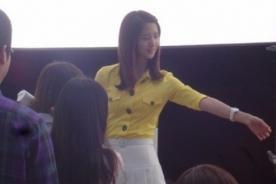 YoonA de Girl's Generation en detrás de cámaras de nueva publicidad