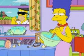 Video: Los Simpson realizan divertida parodia de la serie Breaking Bad
