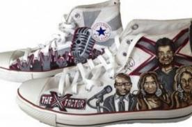 The X Factor: Jueces 'están' en zapatillas
