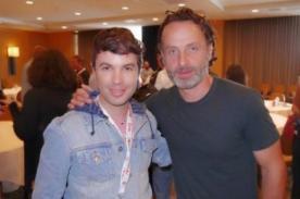 Bruno Pinasco entrevista a protagonistas de The Walking Dead