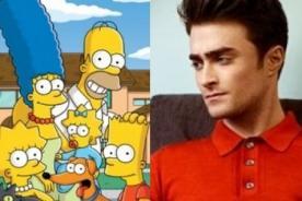 Los Simpson: Daniel Radcliffe dará su voz en nueva temporada de la serie