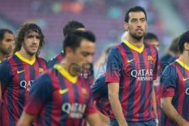 VIDEO: Barcelona presenta a su equipo con Neymar, Messi y 'Tata' Martino