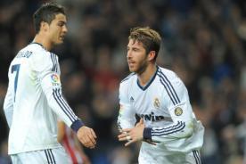 Video: Fuerte discusión entre Cristiano Ronaldo y Sergio Ramos