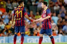 Neymar: Barcelona es un equipo triste sin Lionel Messi