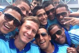 Sporting Cristal: Jugadores realizan 'selfie'