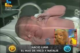 EEG: Fanáticos remecen redes sociales ante nacimiento de Liam