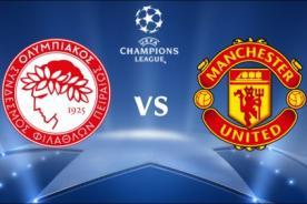 Manchester United vs. Olympiacos: Transmisión en vivo por ESPN - Champions League